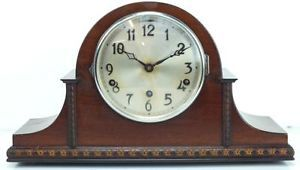 Antique Clock Nice English Art Deco Mantel Clock Westminster Chime Mantle Clock