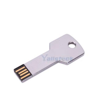New 2GB Metal Key USB 2 0 Flash Memory Drive Store USB 2GB 1 Year Warranty