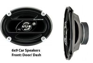 6x9 Car Speakers Front Door 3way 450W 4ohm 6903 FD