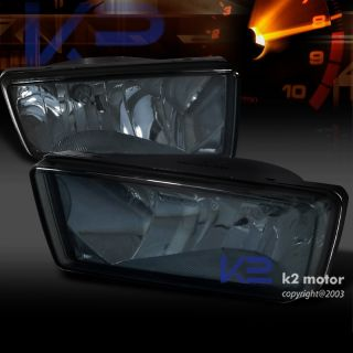 2007 2012 Chevy Silverado Tahoe Smoke Tint Front Bumper Fog Lights Switch