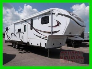2014 Prime Time Crusader 335BHS New Rear Bunkhouse Bunk Beds Fifth Wheel RV 5th