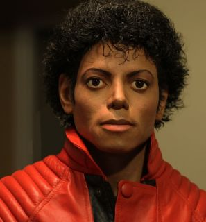 1 1 Lifesize Custom Michael Jackson Thriller Bust Hot Toys Life Mask Size Cast