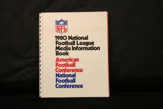 National Football League 1980 Media Information Book