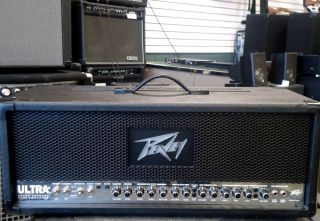 Peavey Ultra Plus 3 Channel Tube Amplifier Guitar Head $Super Nice$