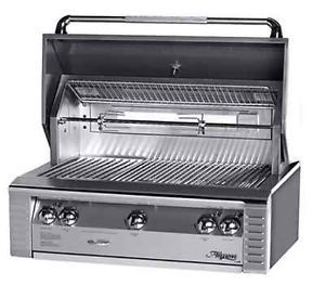 Alfresco Outdoor Stainless Steel ALX2 36 inch Grill with Rotisserie Built In