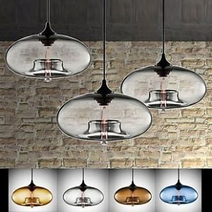 Art Deco Modern Glass Ceiling Pendant Light Lighting Fixture Cool Trendy Fashion