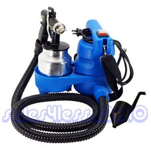 New Electric Painter Easy Paint HVLP Spray Gun 450 Watts 3ft Hose Spray Gun