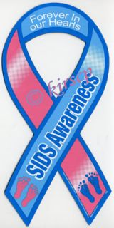Sids Awareness Car Ribbon Magnet Forever in Our Hearts