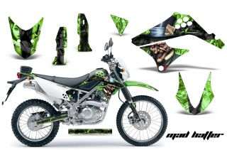 AMR Racing Off Road Motorcycle Decal Wrap Kawasaki D Tracker KLX 125 10 12 MTGSK