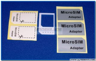20 Pcs Micro Sim Card Adapter for iPhone 4S 3G 3GS iPad 3G Others New USA