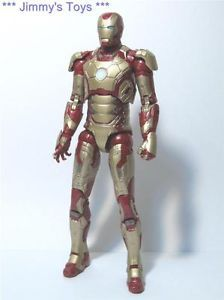 "M61 Marvel Legends Iron Man 3 Series 2 Mark 42 Movie Armor 6"" Action Figure"