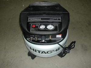 Hitachi EC510 Pancake Air Compressor Portable Lightweight Electric 6 Gallon Tank