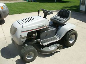 White Lt 13 Riding Lawn Mower