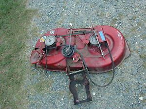 "95 Murray Red Riding Lawn Mower Deck 38"" Red"