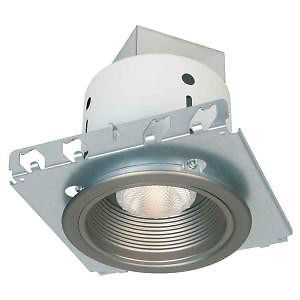 New Commercial Electric 5 in Brushed Nickel Recessed Lighting Kit K3 137015