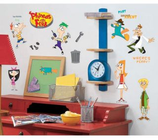 37 Disney Phineas and Ferb Perry Kids Decorative Wall Decals Stickers Stick UPS
