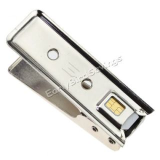 Micro Nano Sim Card Cutter Regular Micro Adatper Card Pin for iPhone 5 5g
