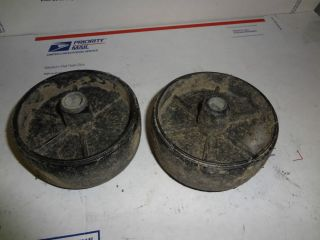 Riding Lawn Mower Garden Tractor Anti Scalp Deck Wheels