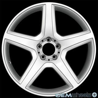 "20"" Silver Sport Wheels Fits Mercedes Benz AMG S400 S550 S600 S63 S65 W221 Rims"