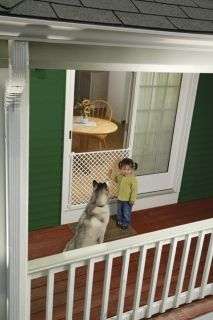 Safety 1st Screen Door Saver Baby Kid Pet Security Gate