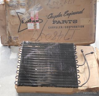 58 59 Plymouth Dodge DeSoto Chrysler Imperial Condenser