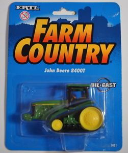 Farm Country John Deere 8400T Tractor 1 64 Ertl Diecast 8400T New in Box