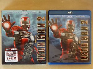Iron Man 2 Blu Ray DVD Slipcover Flawless Discs
