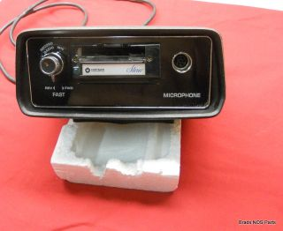 1971 73 Mopar Dodge Challenger Plymouth Cuda Console Mounted Cassette Recorder
