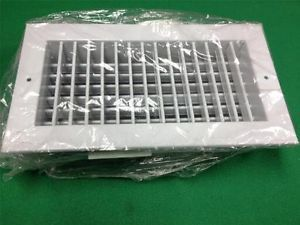 HVAC Supply Outlet Vent Air Diffuser Grille 12 x 6 Opposed Blade Zone Damper 1
