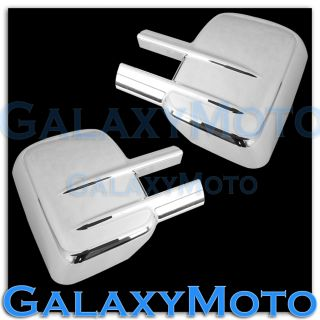 03 13 2013 GMC Sierra HD Triple Chrome Plated Towing ABS Mirror Cover
