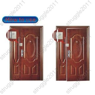 Magnetic Magnet Door Sensor Alarm GSM Sound Activated Monitor for Home Security