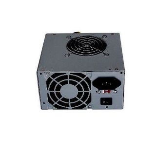 600 Watt 600W ATX Power Supply SATA Dual 80mm Fans Silent for Intel AMD PC Unit