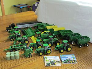 Ertl 1 64 John Deere Farm Toy Lot