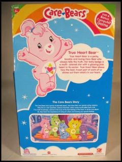 Care Bears True Heart Bear Plush w DVD Bonus PC Game