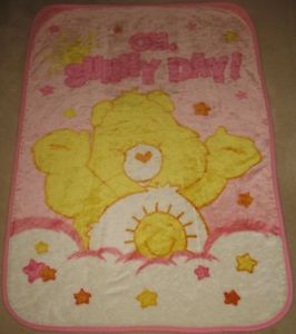 Care Bear Baby Blanket