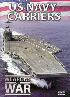 Weapons of War US Navy Carriers DVD 841887013000