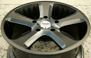 American Racing Circuit 20 x 9 0 s Black Rims Wheels Magnum AWD V6 V8 5H 30