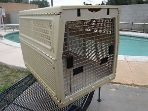 "Nylabone 32""x23""x22"" Large Folding Pet Dog Carrier Crate Kennel Cage"