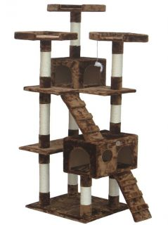 Cat Tree House Toy Bed Scratcher Post Furniture F2081