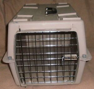 Portable Dog Crate Carrier Kennel Dog Puppy Cat Pet Tote 22""
