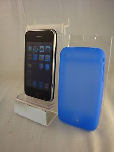 Apple iPhone 3G Black 8GB at T Cell Phone Factory Unlocked GSM Quadband Any Sim