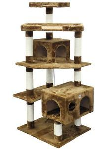 Cat Tree House Toy Bed Scratcher Post Furniture F2021