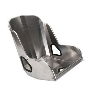 "New Kirkey 41900V 18"" Vintage Class Racing Aluminum Bucket Seat Street Rod"
