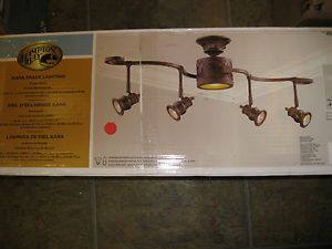 New Hampton Bay Kara 5 Light Track Lighting