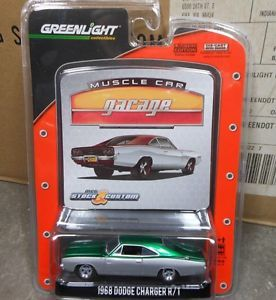 Greenlight mcg 10 1968 Dodge Charger R T Custom Green Machine No Number Sample