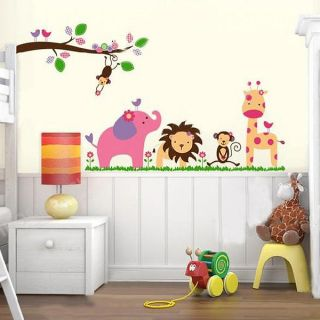 Colorful Cartoon Removable Vinyl Decal Wall Stickers Art Mural Kid Room Decor