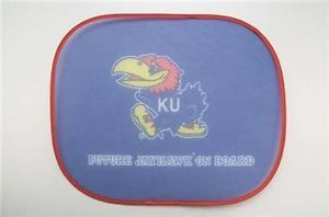 Kansas Jayhawks Logo Color Car Seat Window Baby Shade