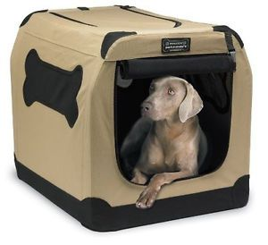 Portable Crate Indoor Outdoor Pet Home Kennel Dog House