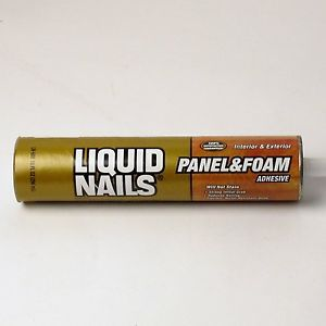 4 Tubes of Liquid Nails 10 oz Construction Adhesive Panel Foam