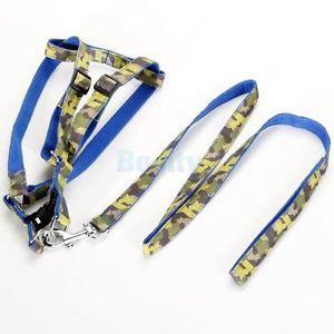 Pet Dog Collar Nylon Lead Leash Harness Neck Strap New